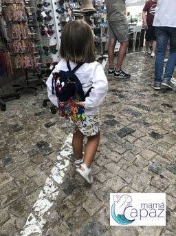 Ayla paseando por Tavira