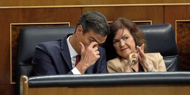 El Mundo Javi Martínez Pedro Sánchez y Carmen Calvo Mama Capaz